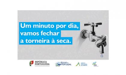 """Efeitos da seca – campanha """" Um minuto por dia, vamos fechar a torneira à seca"""""""