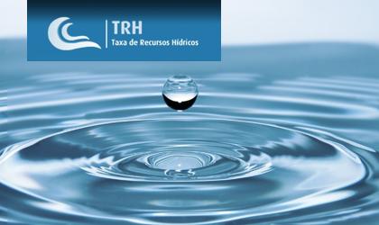 Taxa de Recursos Hídricos 2019 – Reporte, decorrerá até 15 de janeiro de 2020