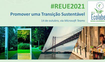 """#REUE2021: """"Promover uma Transição Sustentável"""" – 14 de Outubro"""